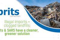 Illegal imports = clogged landfills